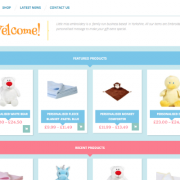 Little Miss Embroidery Ecommerce Web Design
