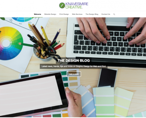 Knavesmire Creative Ltd - Graphic Design for Web and Print